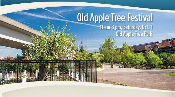 Celebrate the 190th birthday of Vancouver's Old Apple Tree at the Old Apple Tree Festival Saturday, October 1. Get more information.