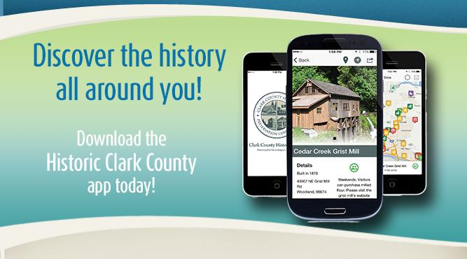 Discover the history all around you! Download the Historic Clark County app for your smart phone or tablet today.
